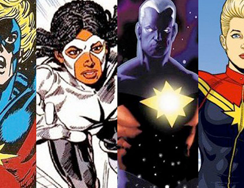 The Many Captain Marvels or How I learned to Stop Worrying and Love Them All