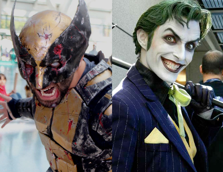Cosplay to Character